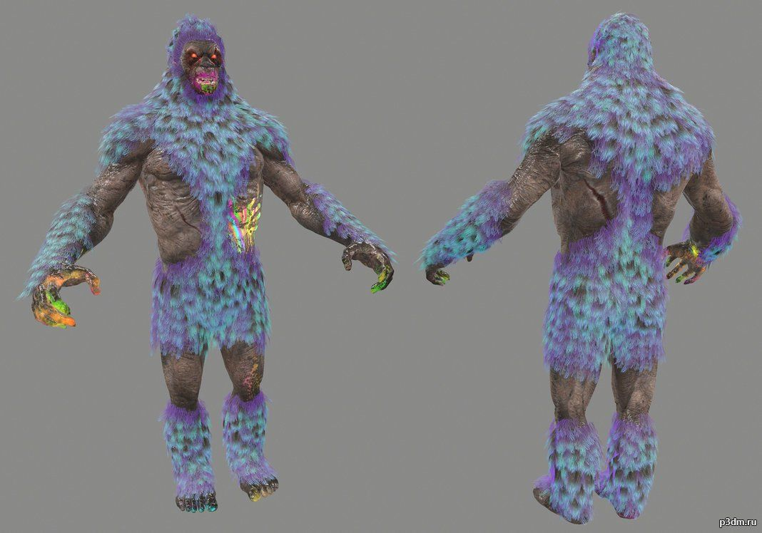 This character are from the DLC Zombies Rave In The RedwoodsIf you