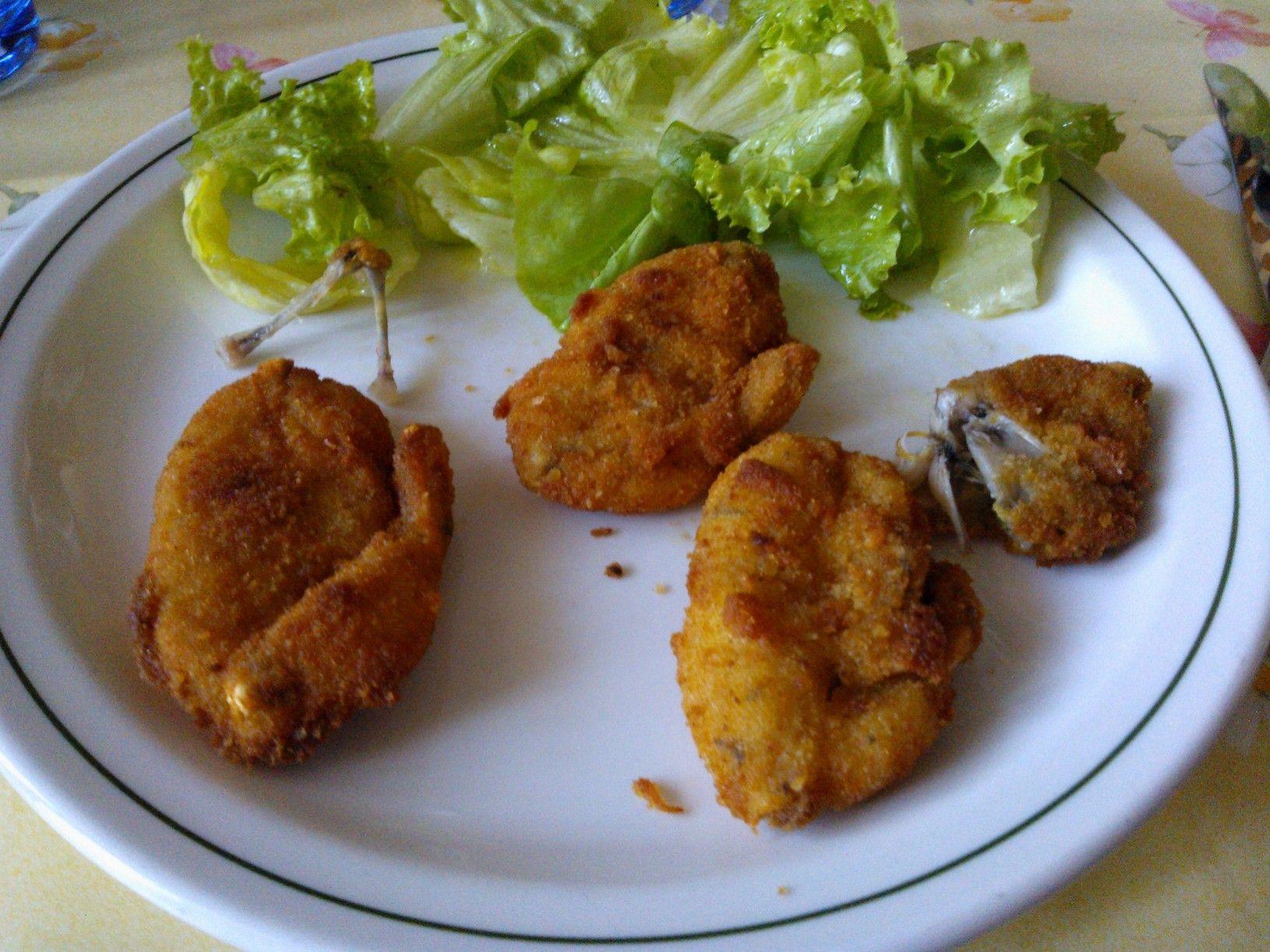 Ancas de Ranas fritas #ranas Antigua y riquisima receta italiana ...