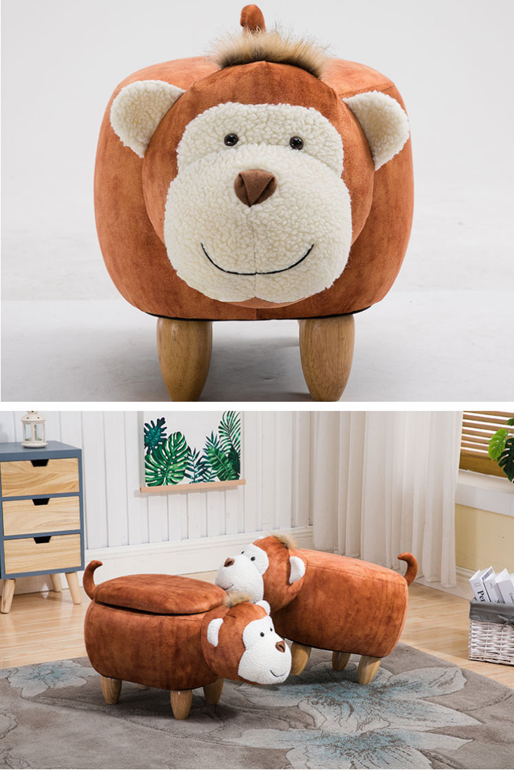 Monkey Footstool Shoe Bench Storage Dining Room Chairs Modern Bench With Storage Footstool Living Rooms