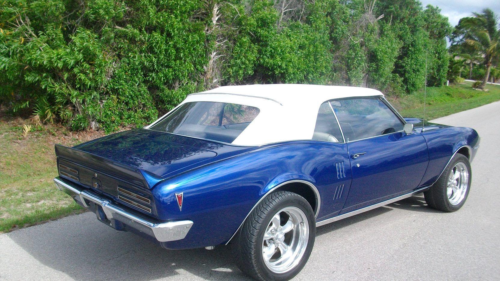 1968 Pontiac Firebird Convertible   W395   Indy 2012   Mecum Auctions