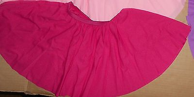 Crepe Dance Skirt Mid Thigh Child Ladies Many Colors Elastic Waist Costume | eBay