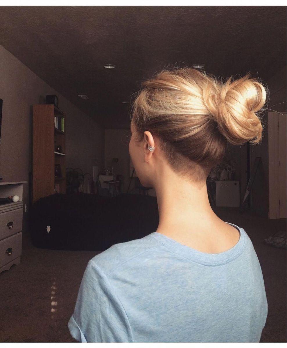 Pin Von Angela Carrascosa Auf Style Rasierte Seiten Lange Haare Frisuren Langhaar Undercut Frauen Lange Haare