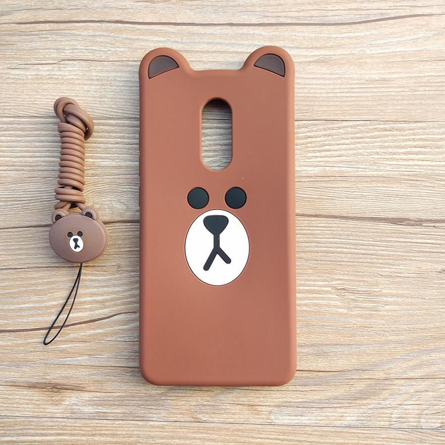 new concept de604 1db2f Cute Cartoon 3D Bear Phone Case for Xiaomi Redmi 5 Soft Silicone ...