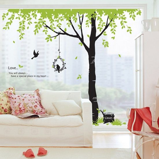 wholesale dropship Home Decor Background Shade Trees ...