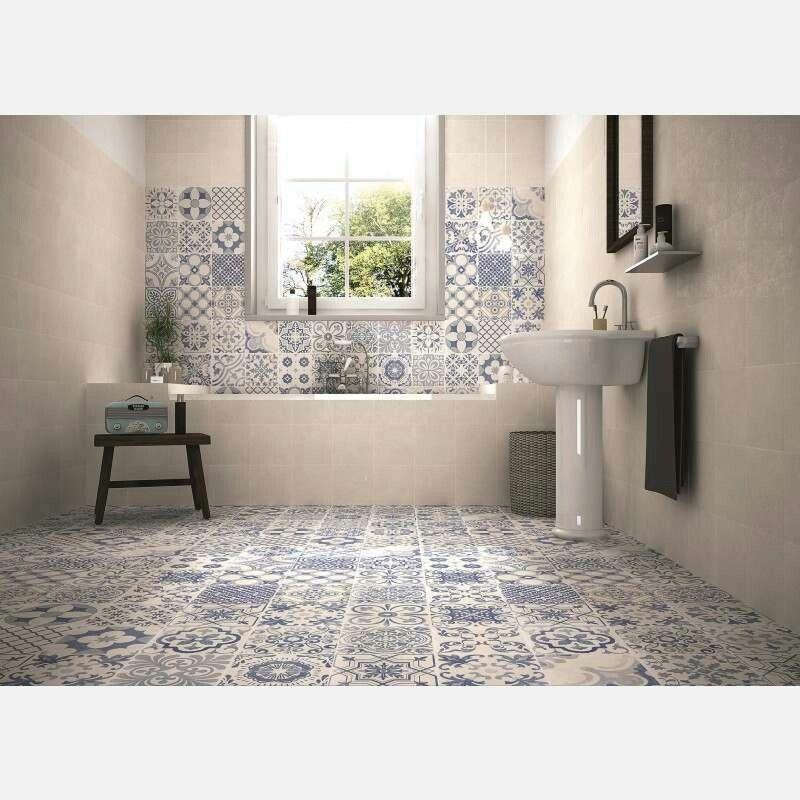 Pin by Kate Weir on Bathrooms   Mosaic floor bathroom ...