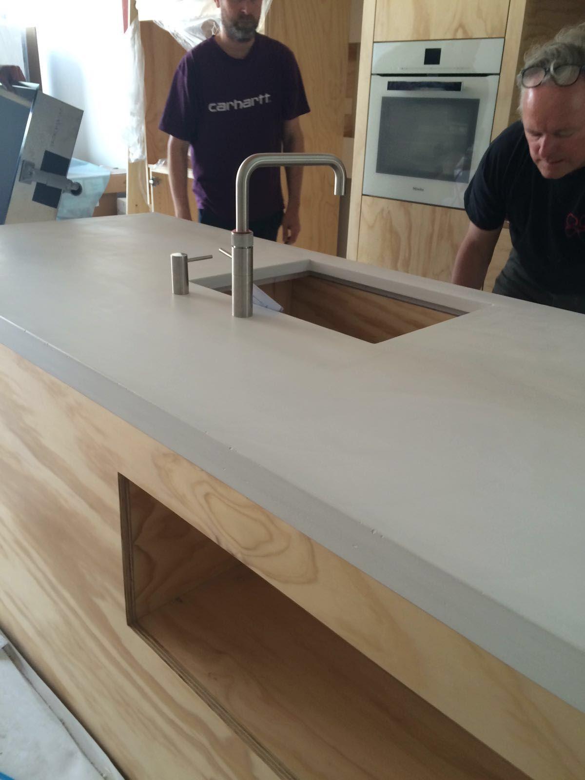 Plan de travail en béton - Concrete worktop www.harmony-beton.com ...