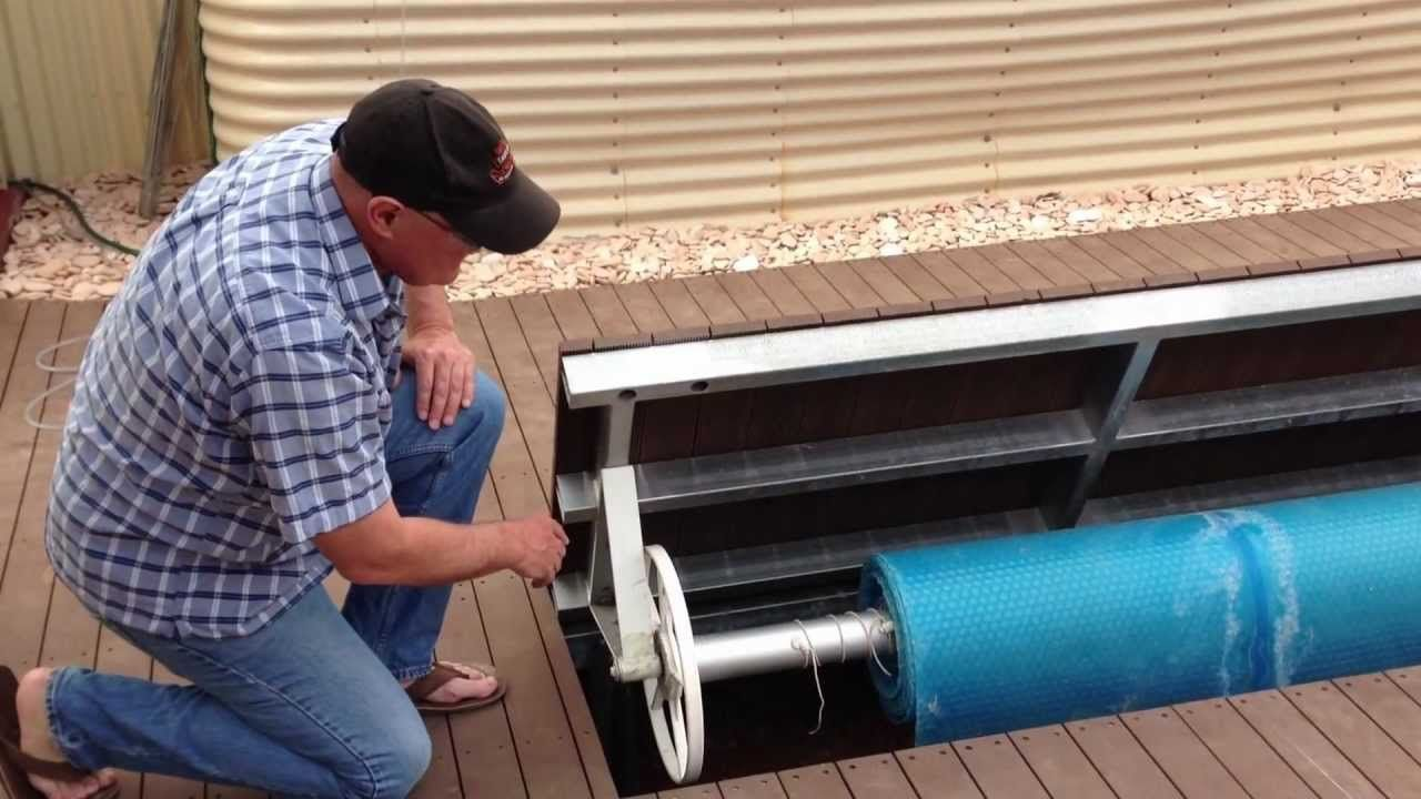 Underground Swimming Pool Cover Holder. Explanation Video ...