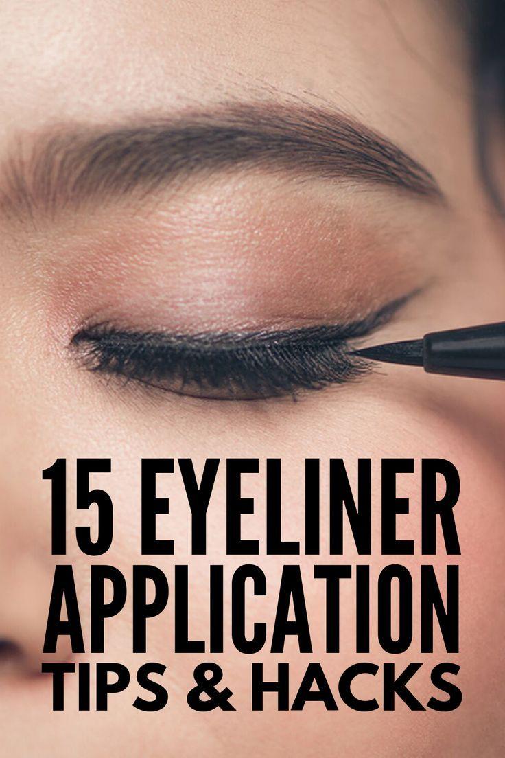 Eyeliner Hacks For Beginners: 15 Makeup Tricks We Love Eyelinertutorials - Makeup For Beginners