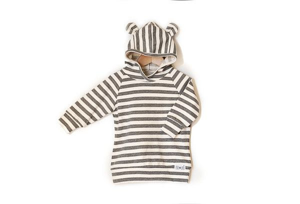100% YUMMY COTTON Get noticed on the playground! Purl Lamb DeLuxe Ear Hoodie™ is uniquely designed with ears and raglan sleeves. Our hoodies are super comfy and