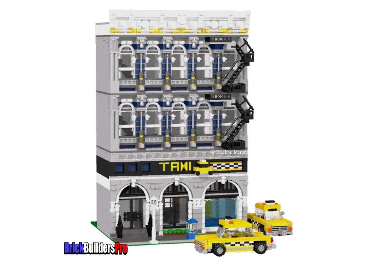 Twilight Taxi Co Pdf Custom Lego Instructions Lego Shop Ideas
