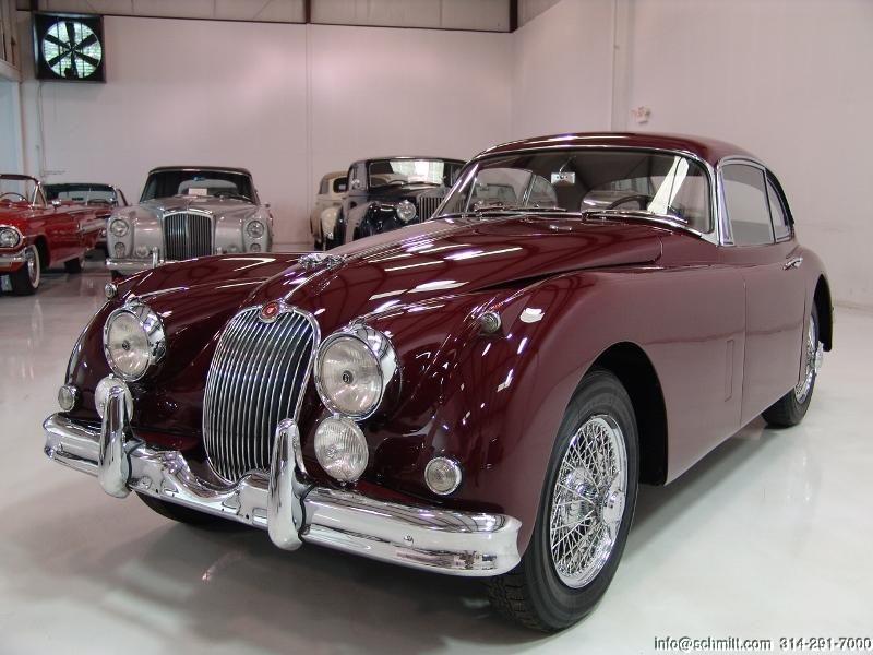 Daniel Schmitt Co Classic Car Gallery Presents 1959 Jaguar Xk150 Fixed Head Coupe Classic Cars Jaguar Car