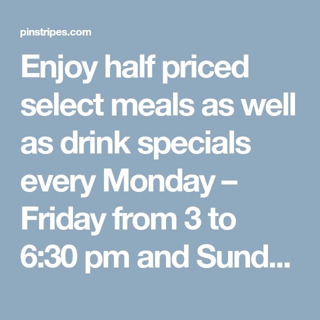 37++ Sunday drink specials near me ideas