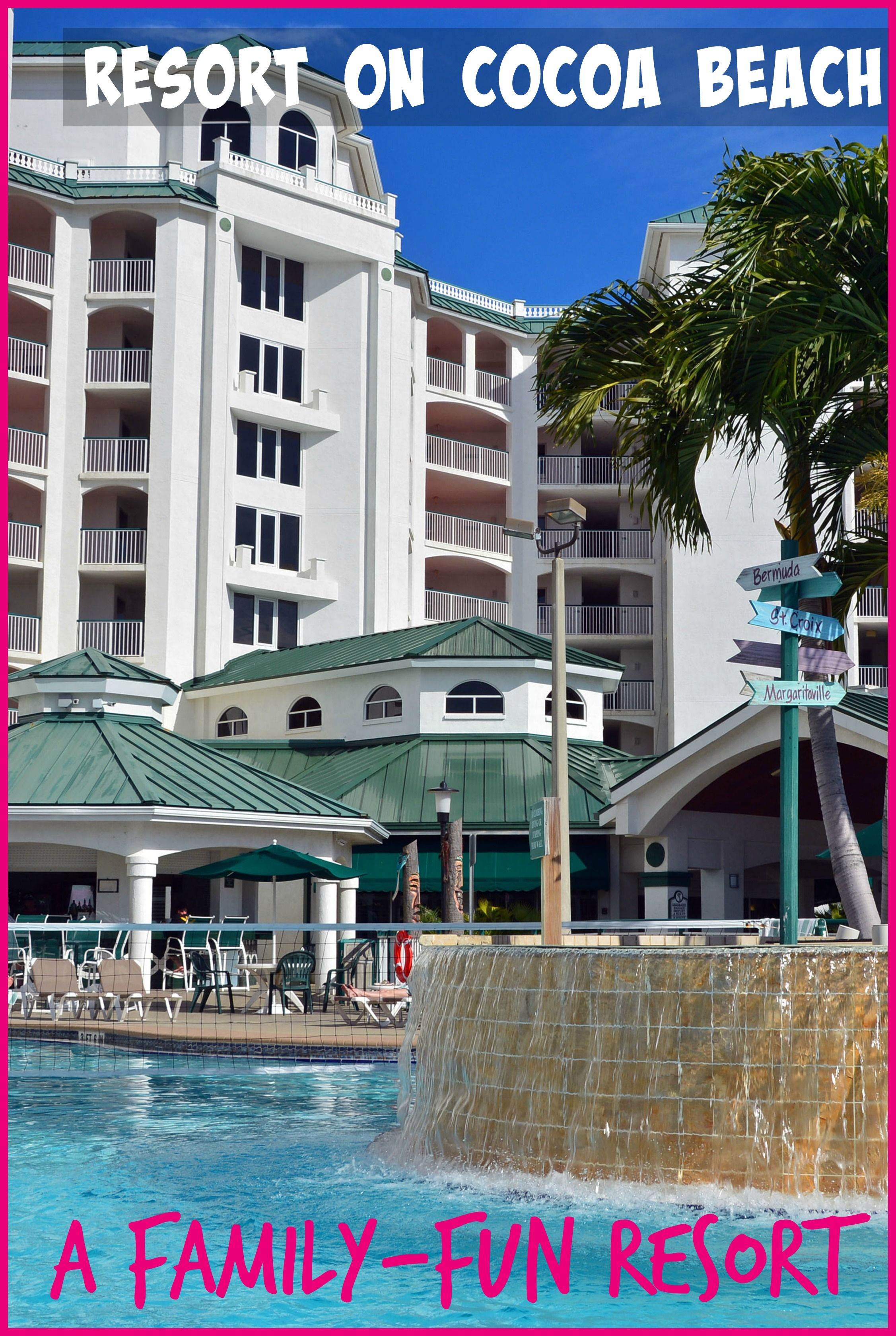 Family Friendly Ocean-Front Resort On Cocoa Beach