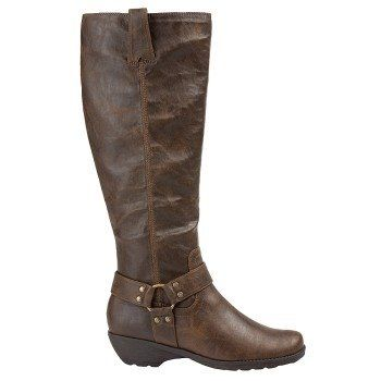 Womens Boots Aerosoles In An Instint Dark Brown Combo