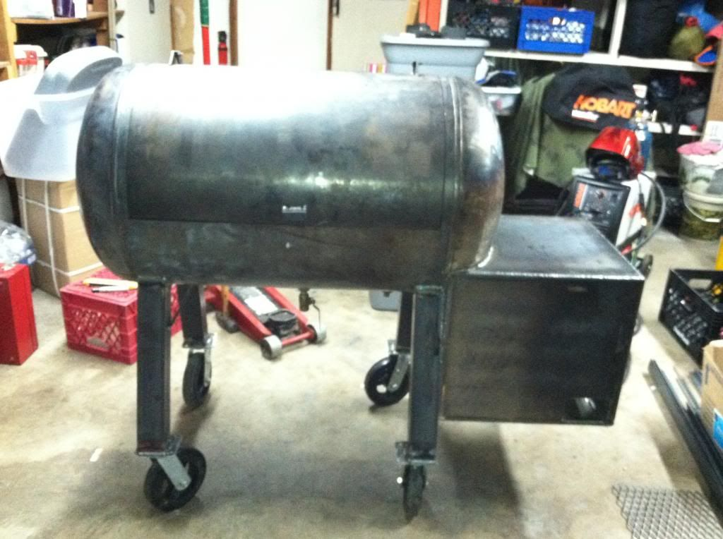 Wick S 80 Gallon Rf Smoker Build Smoker Grill Plans Bbq Grill Smoker Custom Bbq Smokers