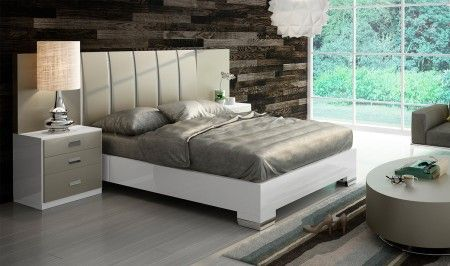 Composition 12 Bedroom Set In White Sand By Fenicia Get Furniture