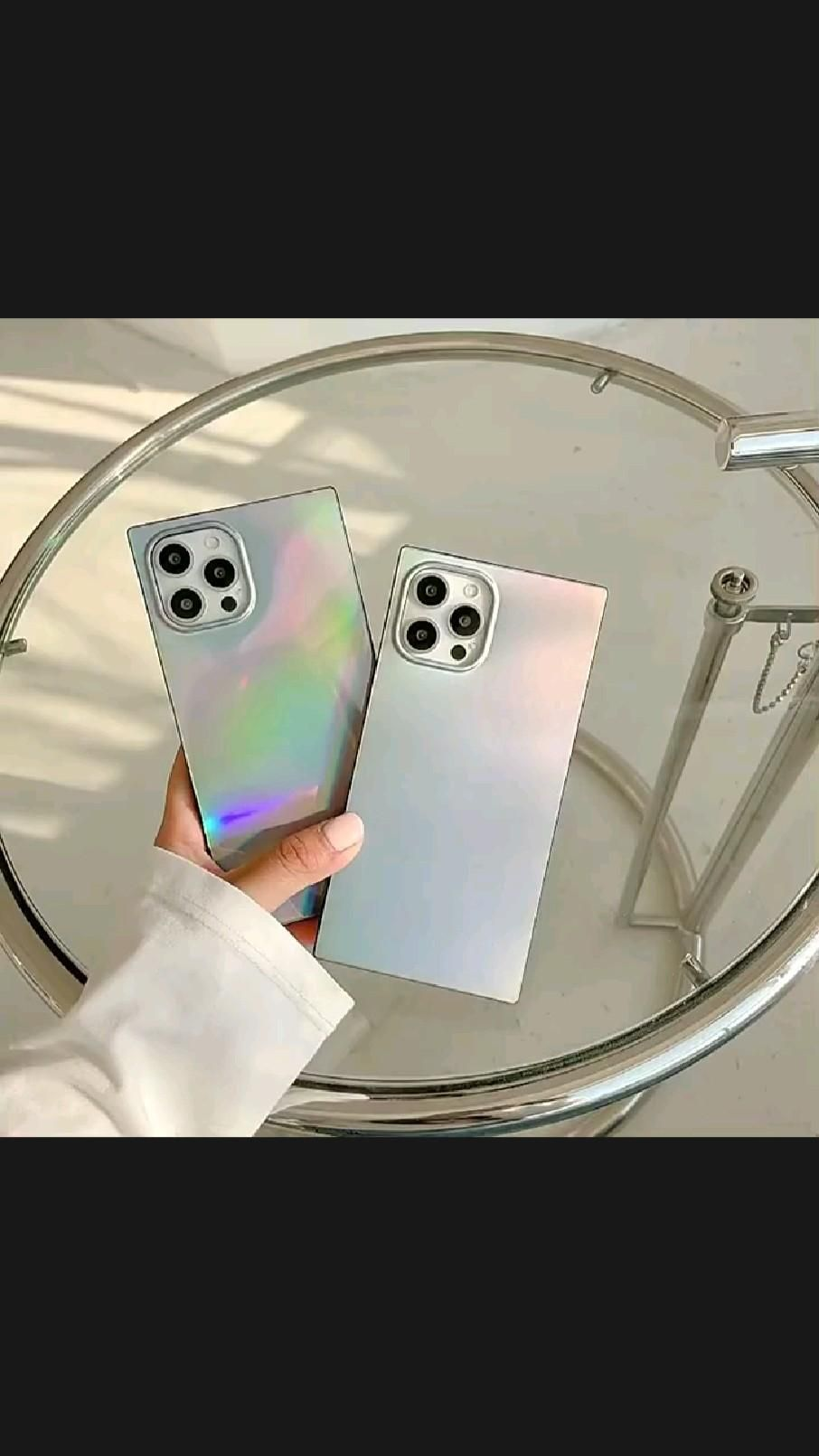 Laser Square iPhone Case