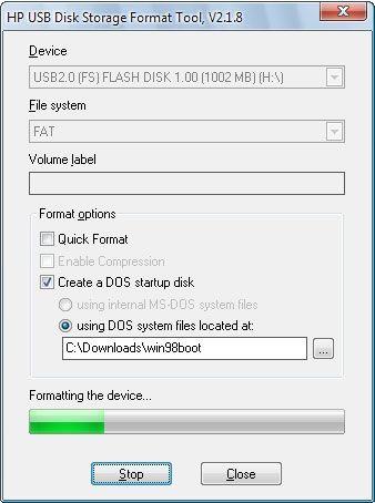 HP USB Disk Storage Format Tool Offline Installer Free