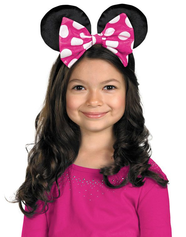 Minnie Mouse Ears - Accessories & Makeup | Halloween Costumes ...