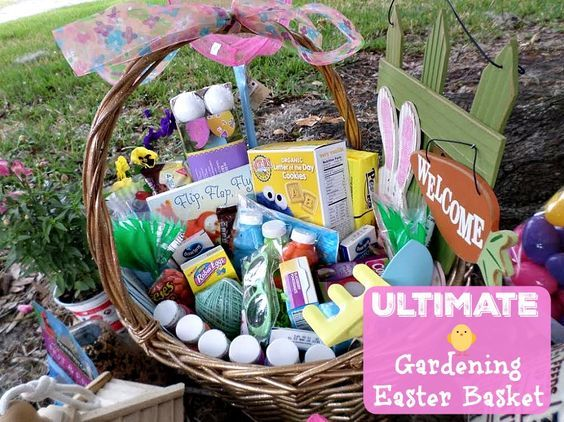Gardening easter basket themed easter basket ideas easter gardening easter basket themed easter basket ideas negle Image collections