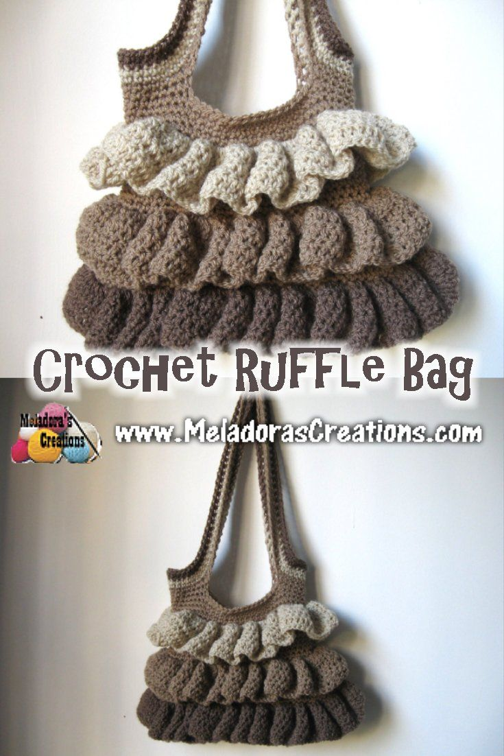 Your place to learn how to Make The Ruffle Bag for FREE ...