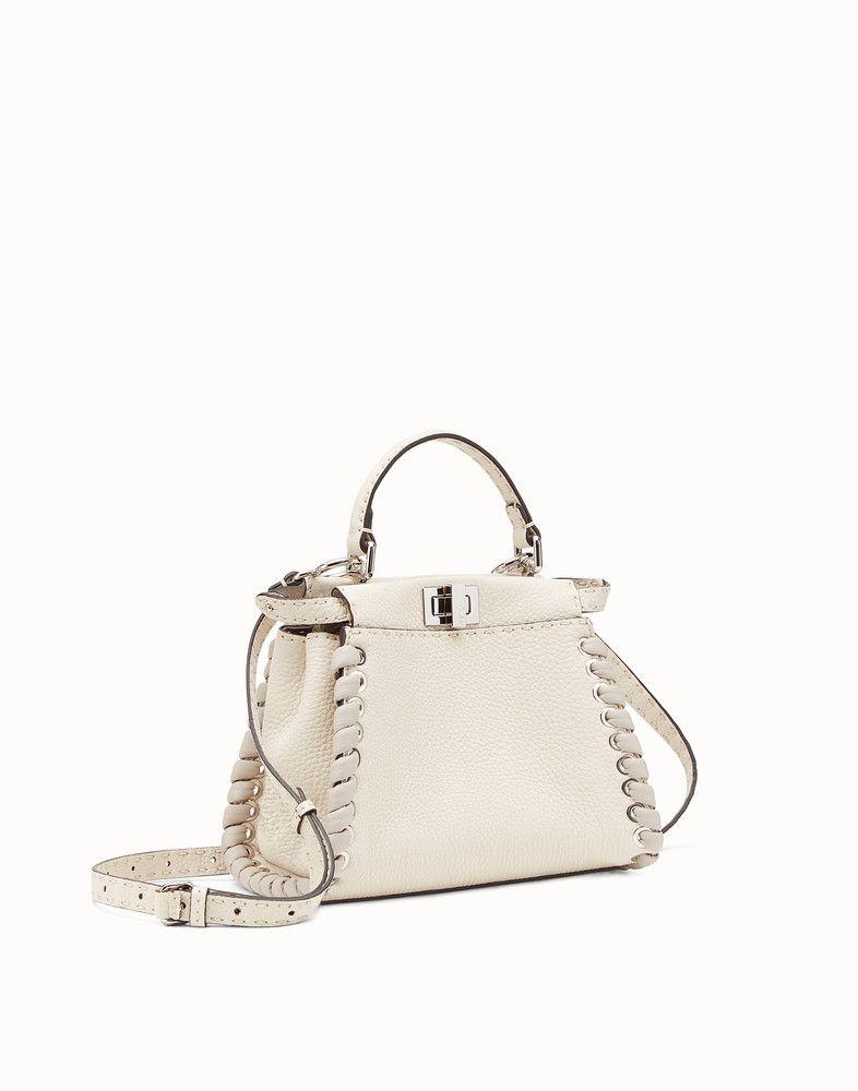 b3ec5ac9d1 Peekaboo mini | Outfit women | Fendi peekaboo mini, Bags, Leather