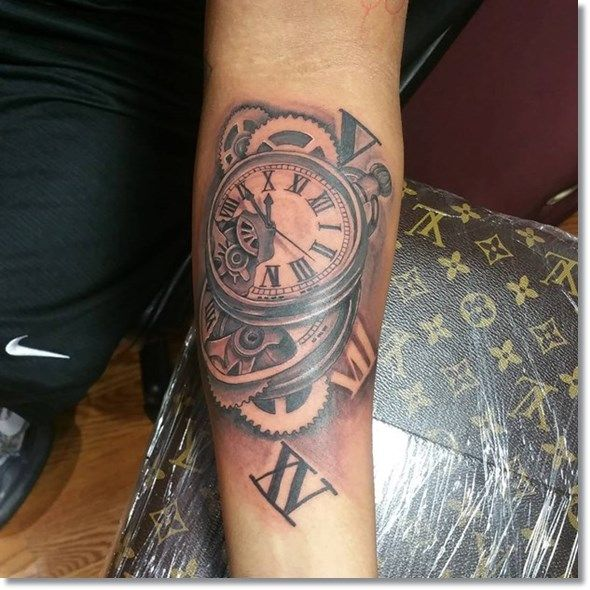 Pocket watches are still popular in the modern world, and here are some pocket watch tattoo designs that you might consider: