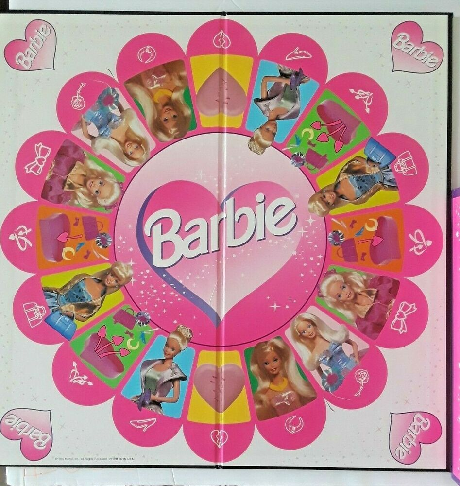 1995 Barbie Dress Up Game COMPLETE with all pieces