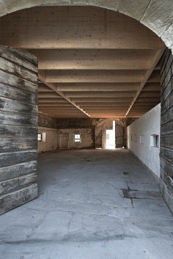 Charles pictet architecte fas sia atelier dans un for Dujardin grange