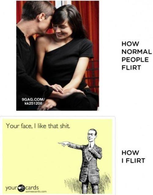 Wie flirten männer online
