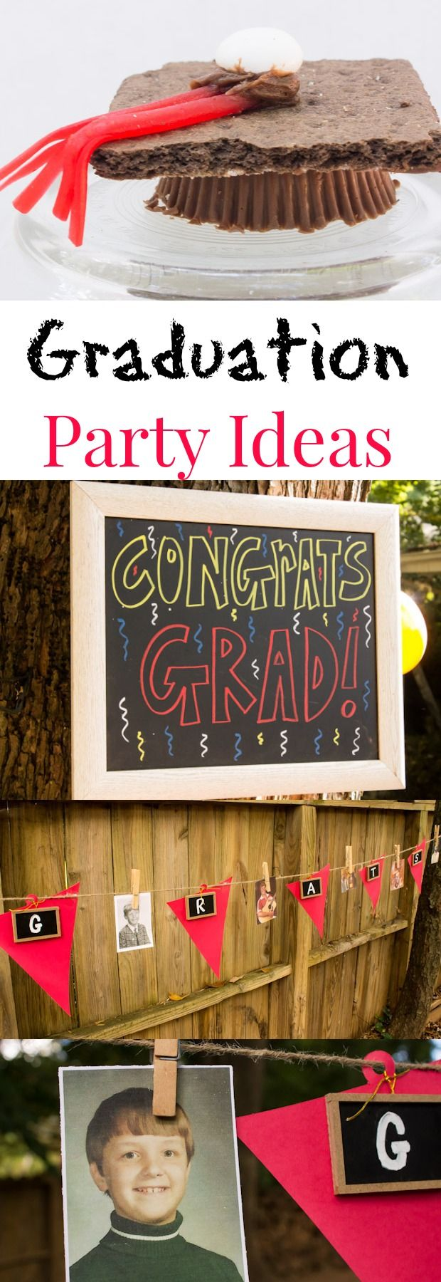 Graduation Party Ideas for All Ages from Marty's Musings