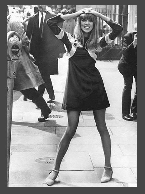This photo appeared in 16 Magazine and was the first time I had ever seen a mini-dress. Btw, the model is Patti Boyd who married both George Harrison and Eric Clapton.