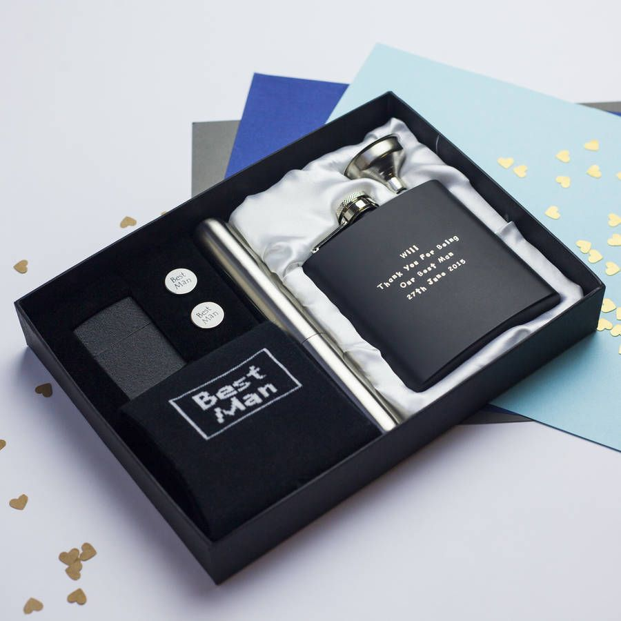 Personalised Luxury Mens Wedding Gift Box Wedding Gifts For Men Wedding Gift Boxes Original Wedding Gifts