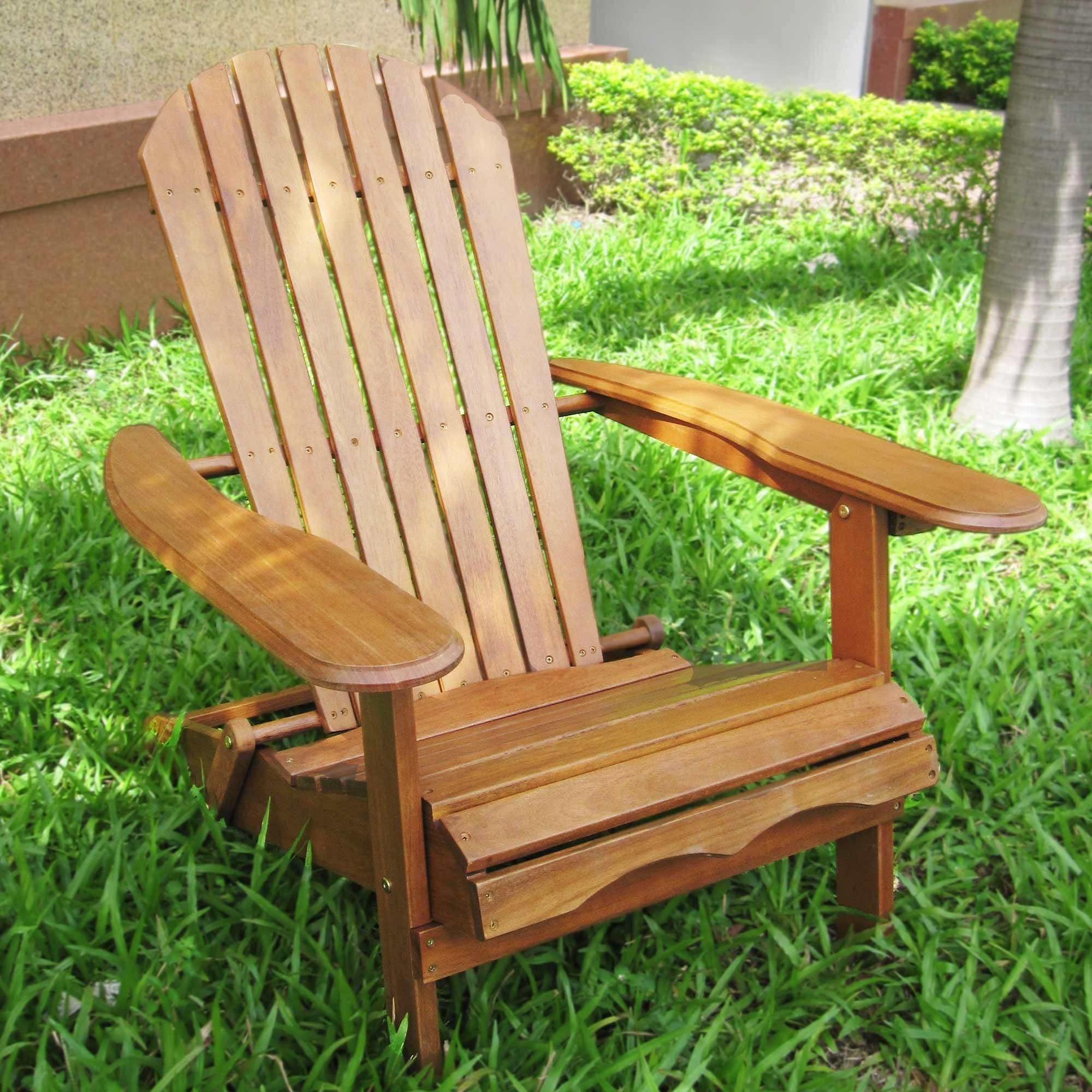 merry garden adirondack chair antique high chairs eucalyptus stained by gardens for the