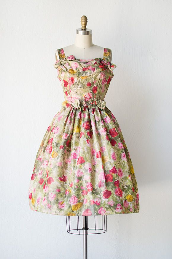 In love with this vintage 1940s party dress from Adored Vintage ...