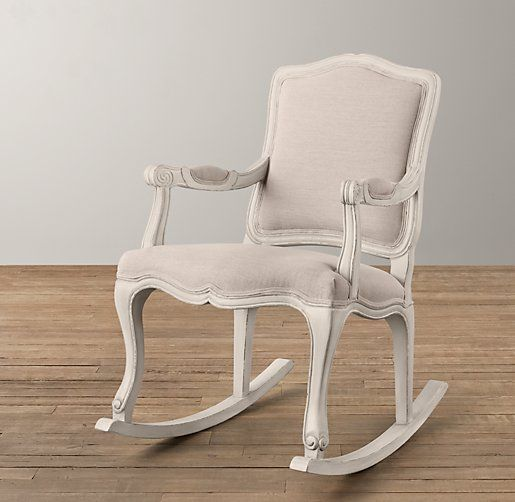 Pin By Gabriel Danciu On Noho French Style Upholstered Rockers Rocking Chair Nursery Rocking Chair