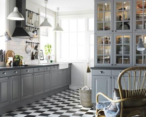 Keuken Tegels Ikea : Grey kitchen ikea lidingo my kitchen renovation kjøkken