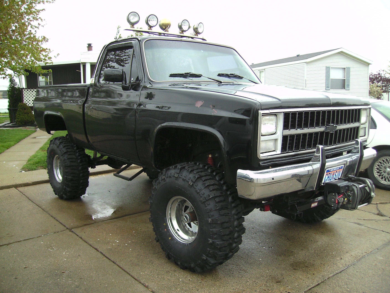1985 chevy truck 4 4