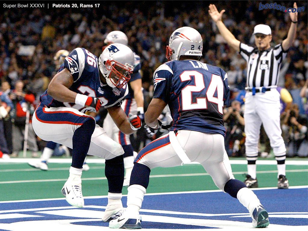 Lawyer Milloy Ty Law They Dynamic Duo New England Patriots Patriots Ty Law