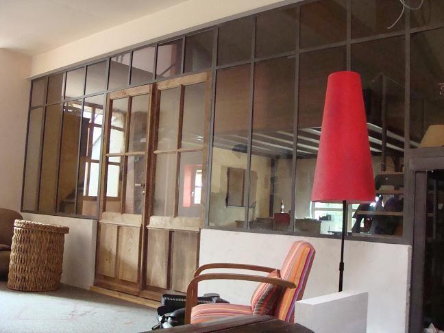 Cloison En Fer Forg Type Atelier  Archi Et Deco Interieur
