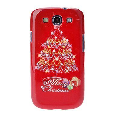 Samsung matkapuhelin - Samsung S3 I9300 - Takapäällinen - Kuvitettu ( Punainen , Plastic ) – EUR € 4.94