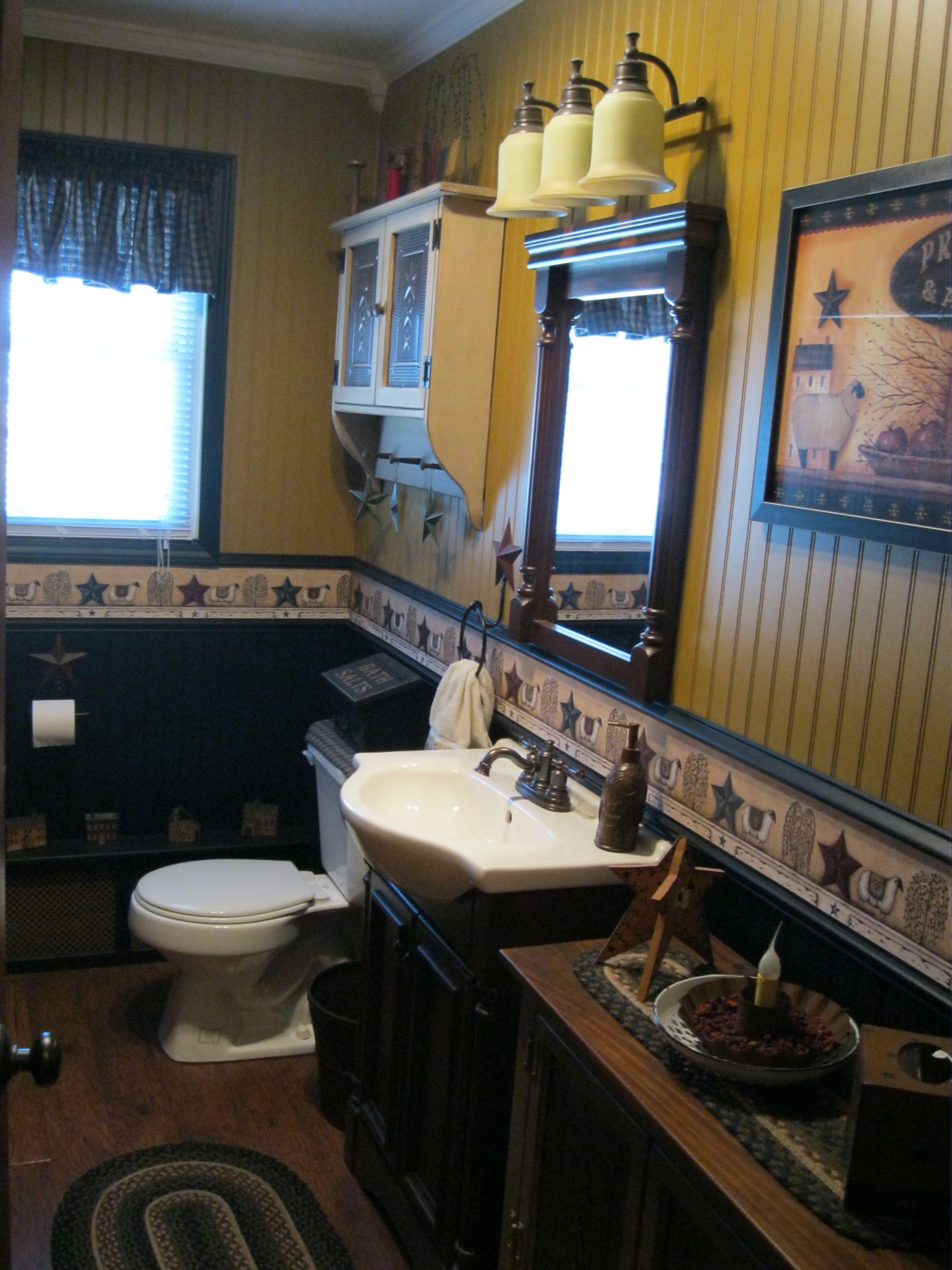 Primitive Bathroom Home Primitive Bathroom Decor