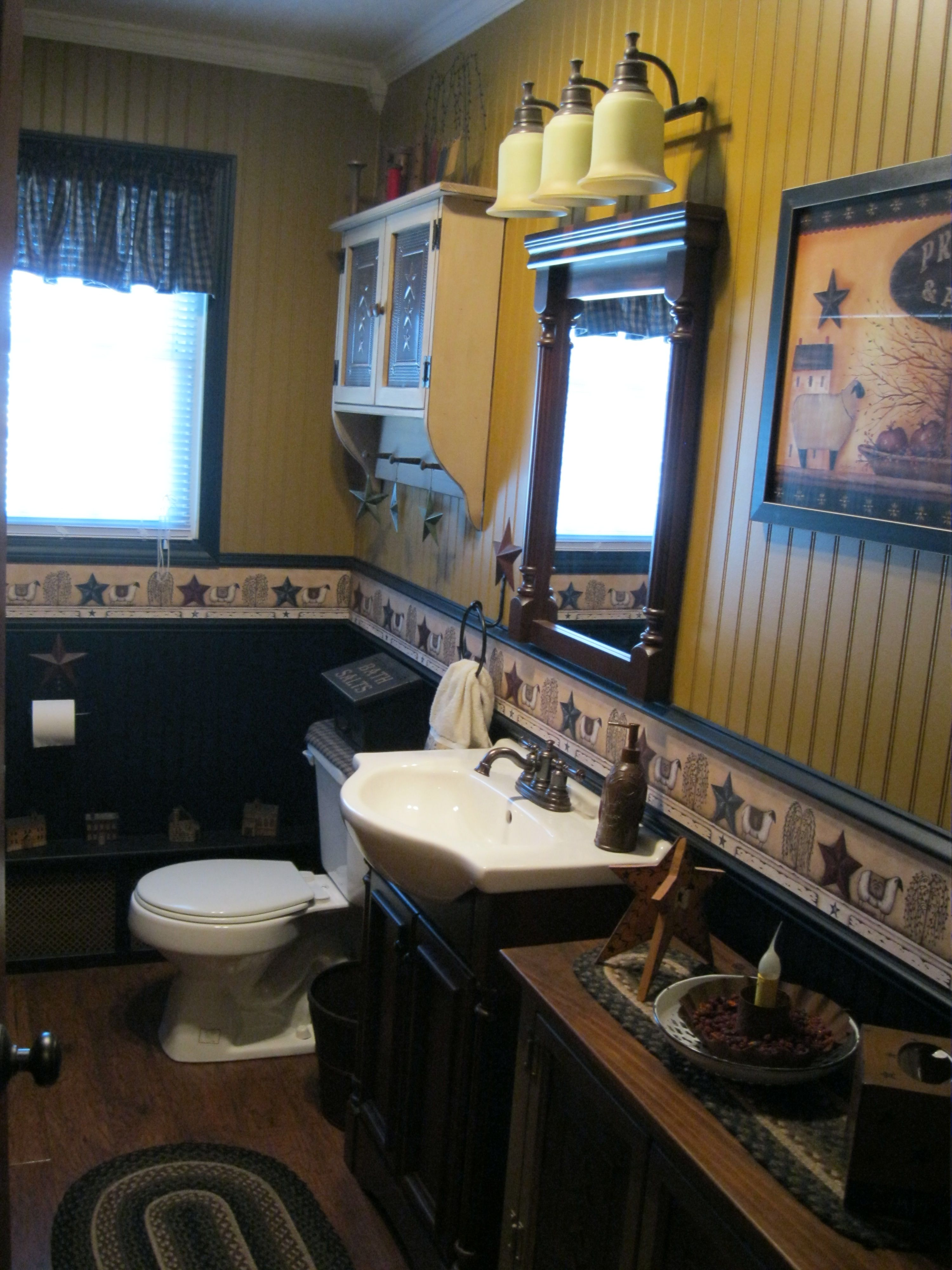 Pin by Smithfield Home Decor on Home | Primitive bathroom decor, Primitive country bathrooms ...