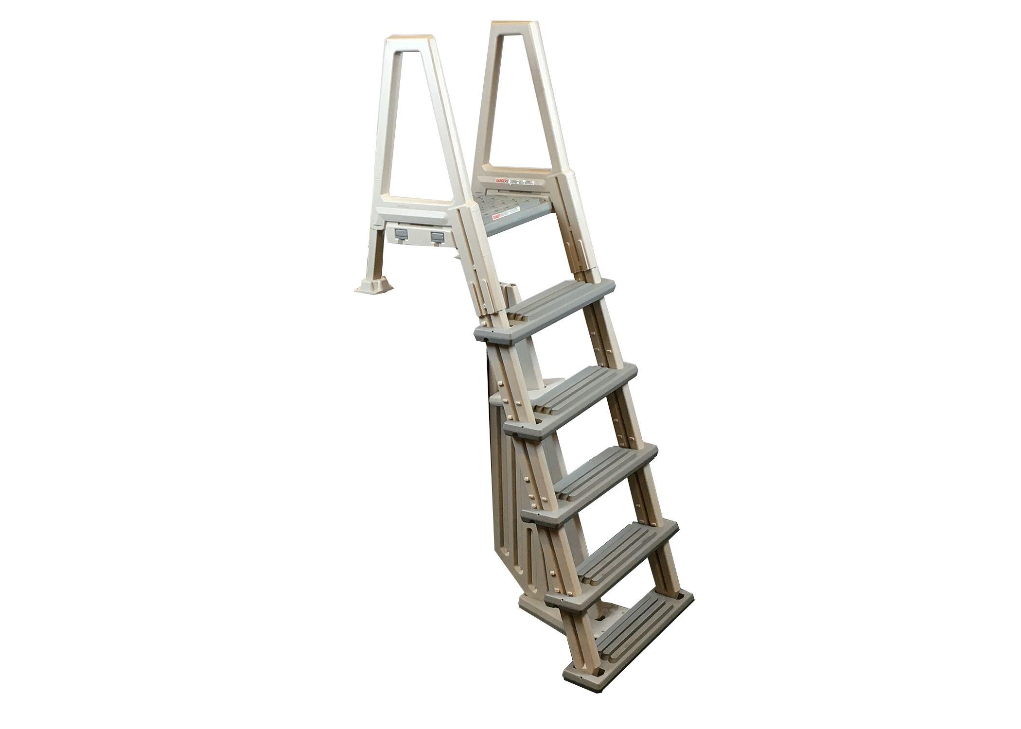 Confer plastics resin abg inpool ladder with barrier