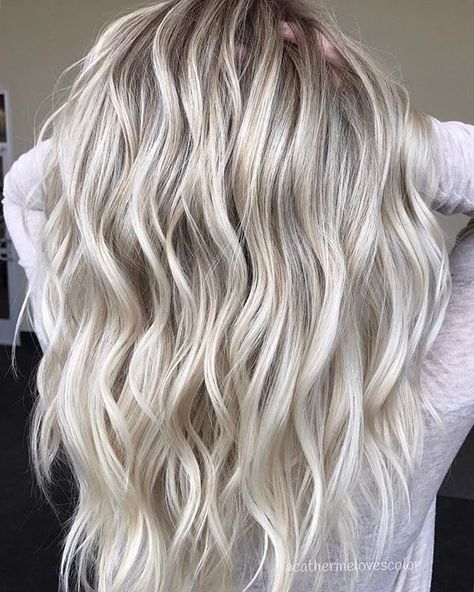 19+ Ideas Hair Color Tips Ombre Platinum Blonde #platinumblondehighlights