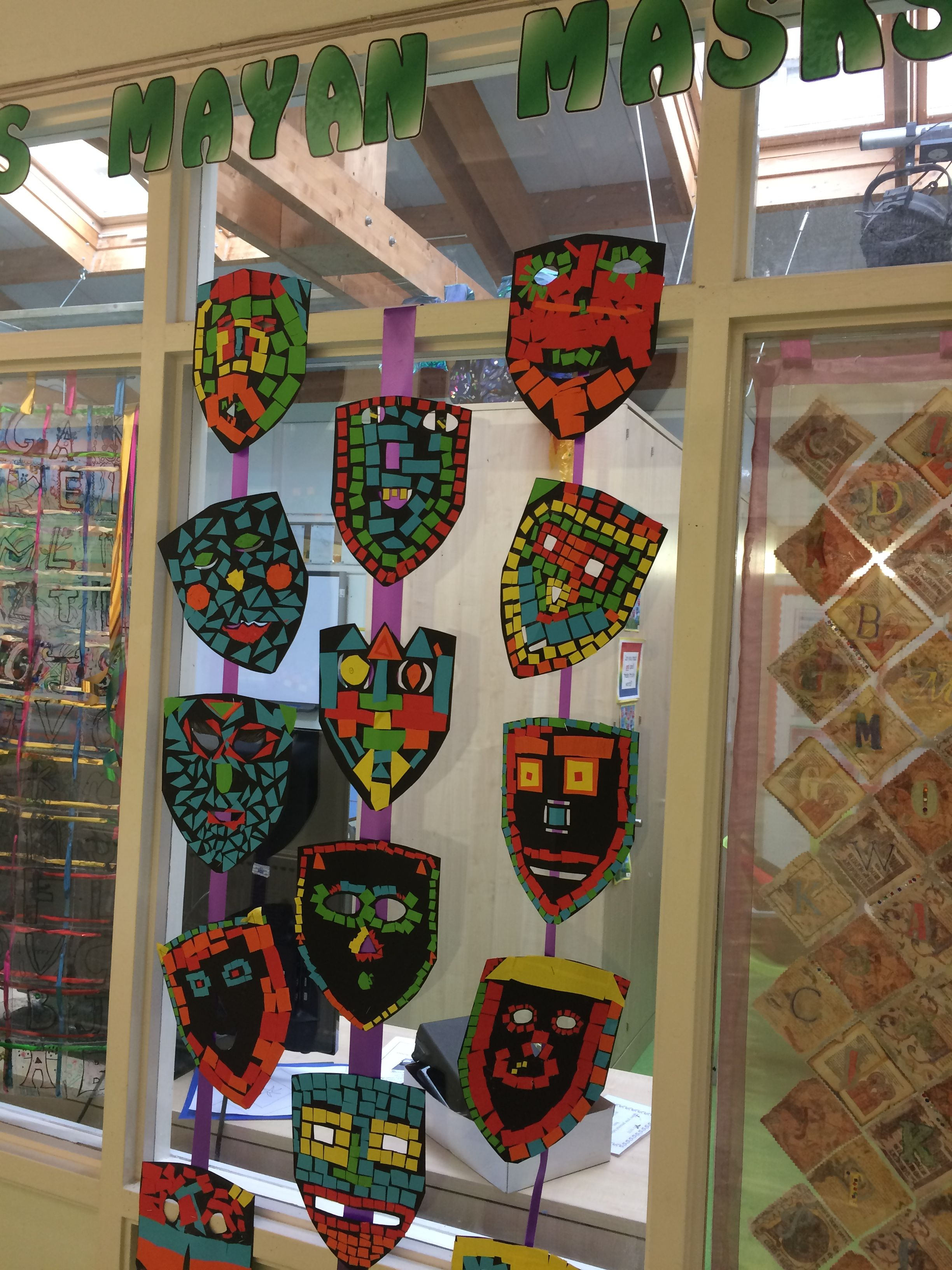 Year 4 Mayan Masks