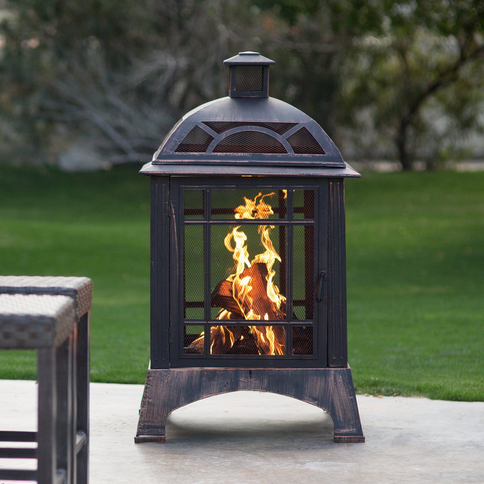 red ember beacon outdoor fireplace the red ember beacon outdoor