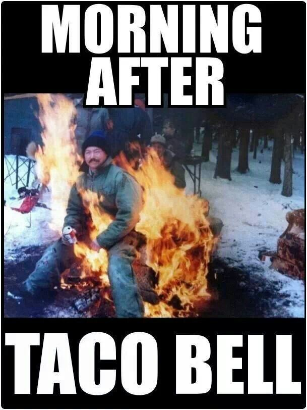 b669b983725b92091616cb981401c0b8 crohns humor actually, ironically, taco bell is one of my safe,Crohns Meme