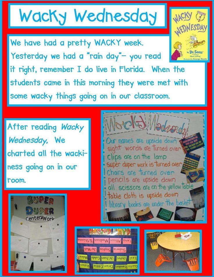 Wacky Wednesday - Golden Gang Kindergarten: Dr. Seuss Math Freebies ...