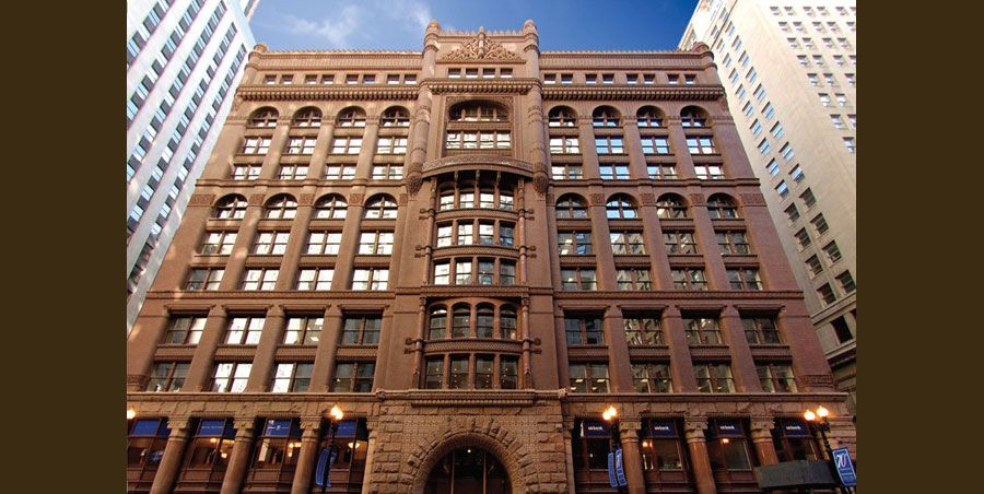 Architecture Buildings In Chicago the rookery. as one of the most historically significant buildings